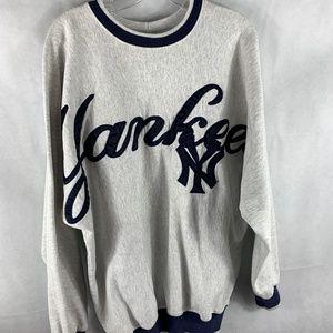 Vintage New York Yankee Crew Neck Sweater